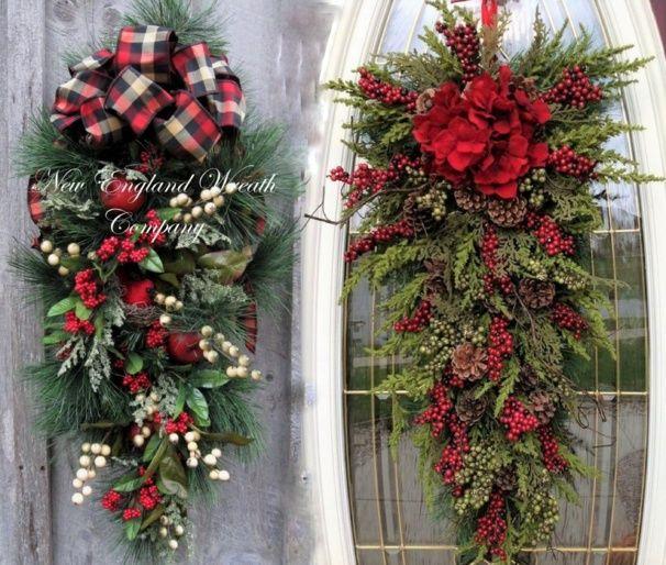 Decorations De Noel En Tiges Et Branches De Sapin Avec Images