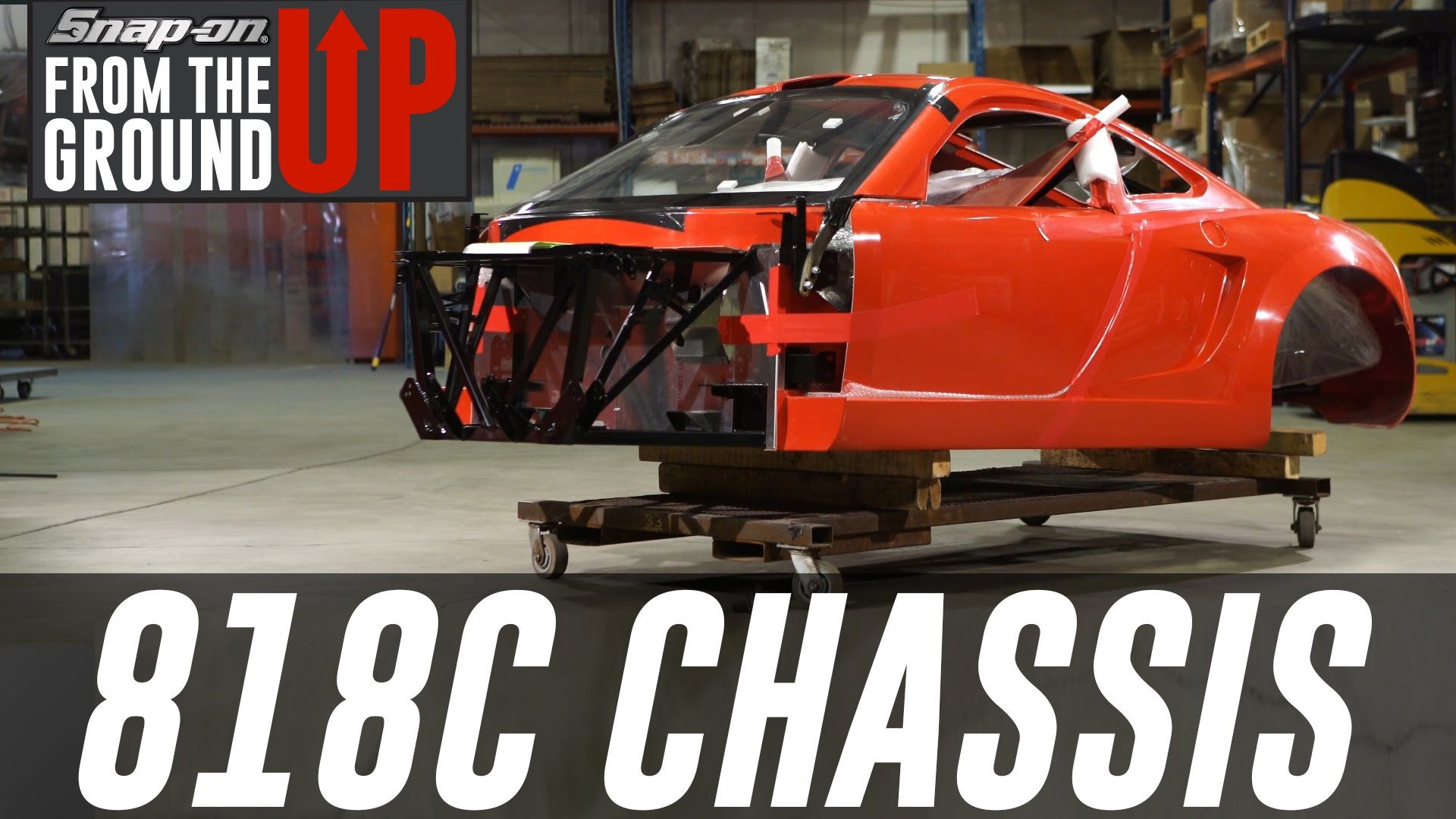 The First-Ever 818C w/ Factory Five (Part 1)- Snap-on® Tools
