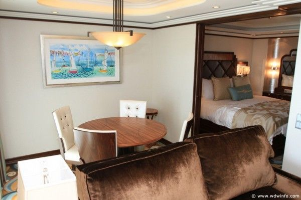 Disney Cruise Line Staterooms - 1 and 2 Bedroom Concierge Suites ...