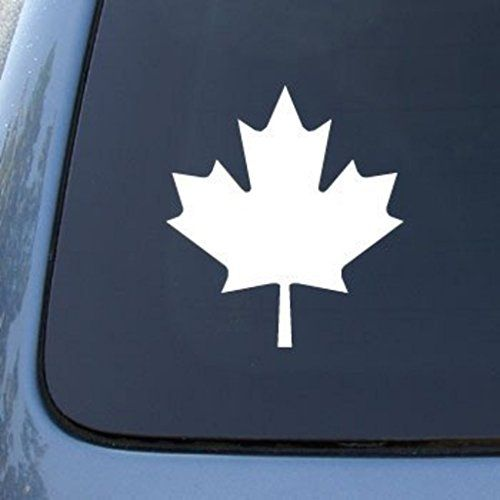 CMI MAPLE LEAF CANADA Die Cut Vinyl Car Decal Sticker For Car - Custom vinyl car decals canada