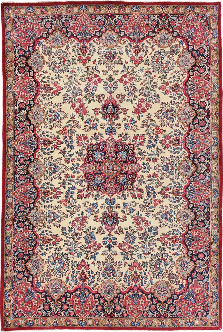 Old Kerman Origin Persia Size 6 0 X 9 0 Rug Id 1335 Rugs On Carpet Persian Carpet Simple Carpets