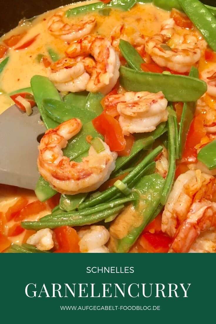 Photo of Shrimp curry with sugar snap peas – forked _ Vegetarian food blog & travel …