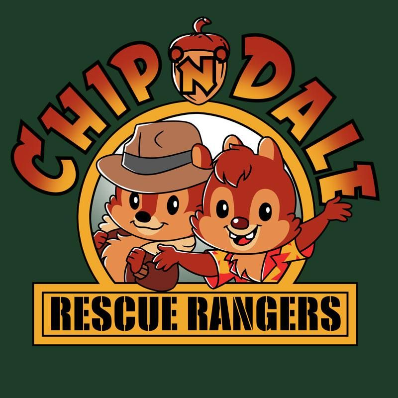 f1cc8073 Chip n Dale Rescue Rangers - T-Shirt / Mens / S in 2019 | Disney ...