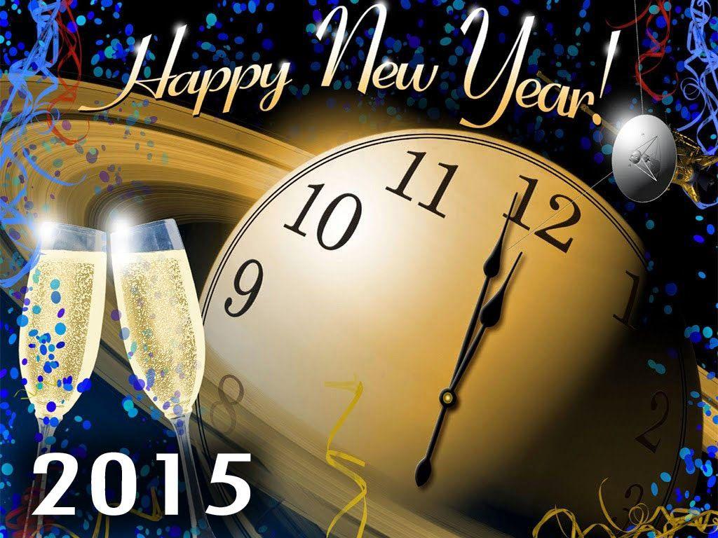 Happy New Year 2015 Handmade Greeting Cards Craft Pinterest