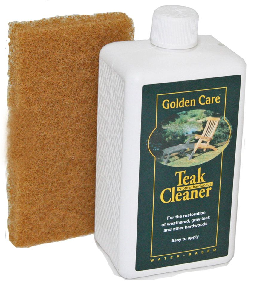 Golden Care Teak Cleaner Works Great For Removing Grease, Dirt, And Even  Wine Stains