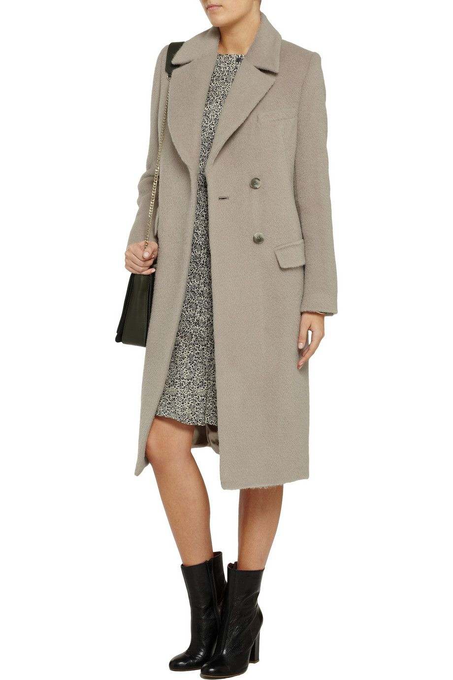 Iris & InkAimee brushed wool coat Discount Iris | Great ...
