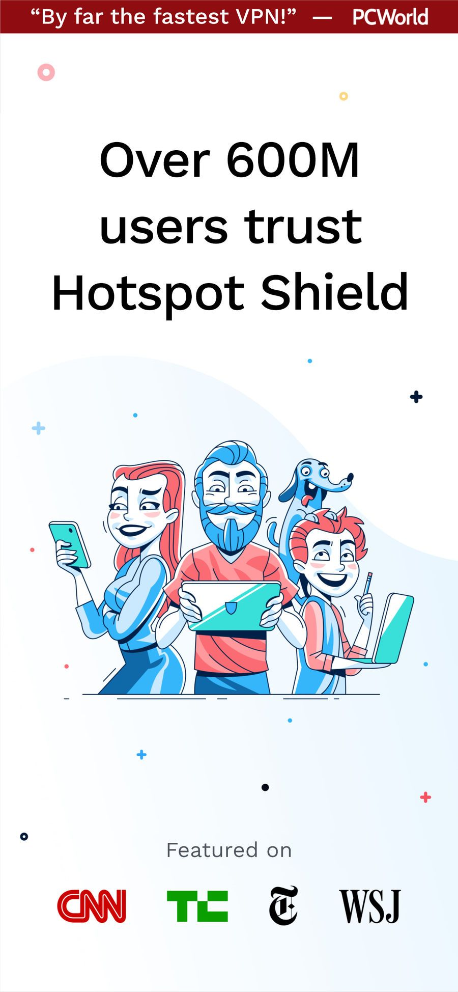 ‎HotspotShield VPN & Wifi Proxy on the App Store Wifi