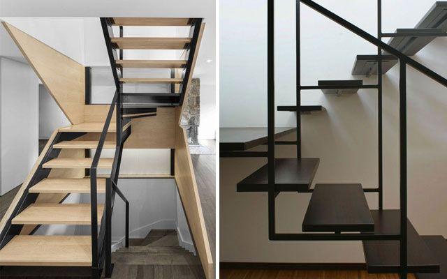 Decofilia te trae m s de 50 ideas de pasamanos modernos for Pasamanos de escaleras interiores