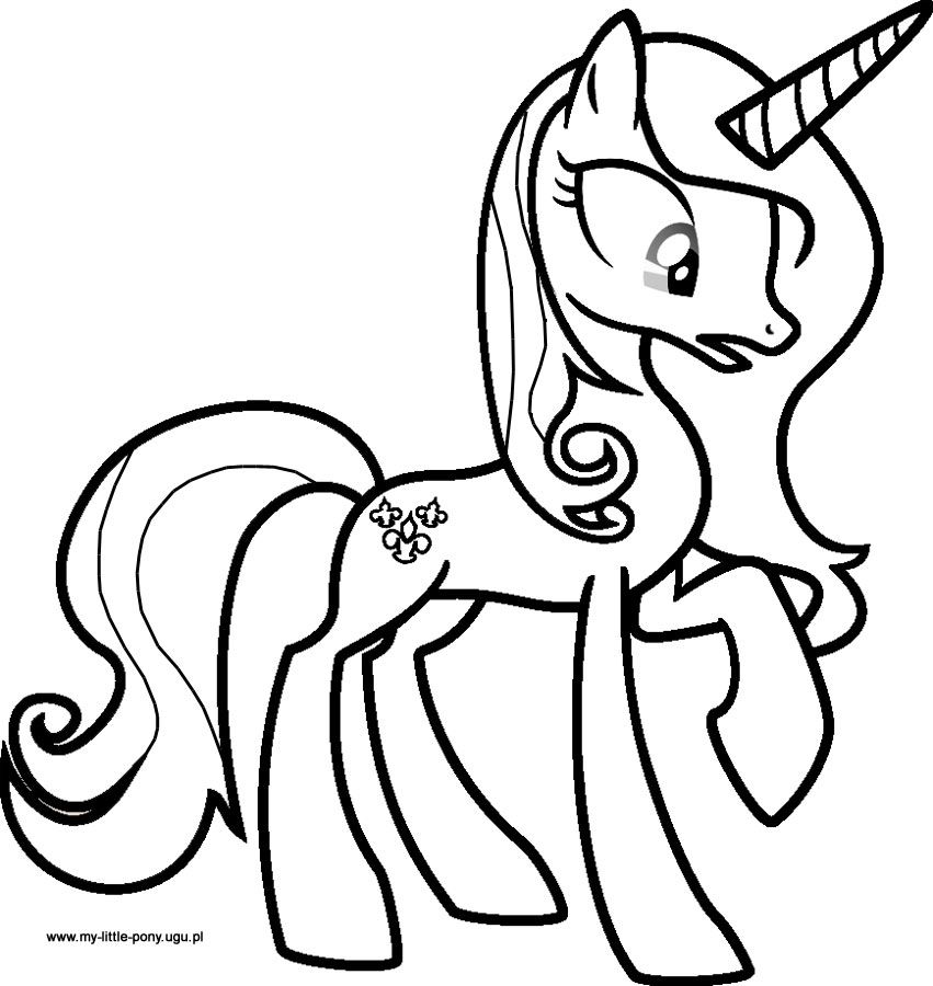 Fleur Dislee Colouring Pages My Pretty Pony Little Pony My Little Pony