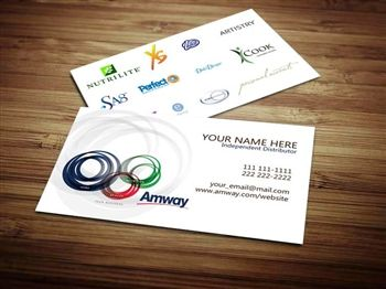 Amway Business Card Design 2 Amway Business Amway Business Card Template