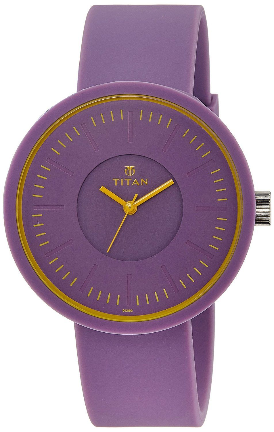 ce2d053fc15 Buy Titan Youth Analog Purple Dial Women s Watch - 9953PP03J Online at Low  Prices in India - Amazon.in