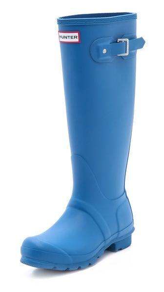Dames: schoenen Hunter Original TALL Wellington Rain BOOTS