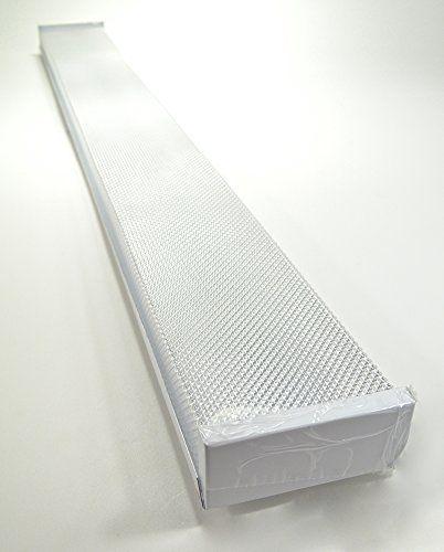White Foot Light Ceiling Light Fixture With X LED T Https - Kitchen fluorescent light fixtures amazon