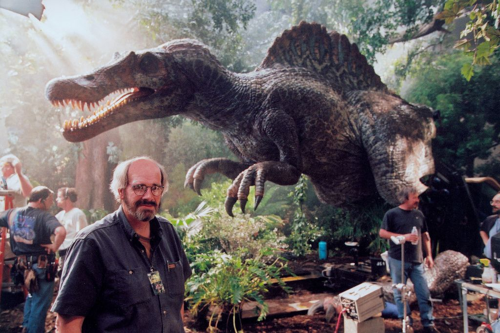 Jack Horner en el set de Jurassic Park 3 - Jurásico Galería Mundial