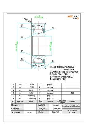 ABEC-7 Hybrid CERAMIC Ball Bearings FOR PENN 4400SS SPINNING REEL Bearing