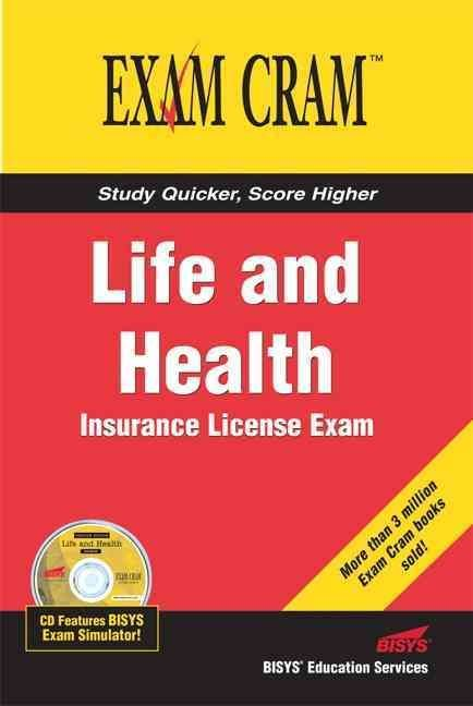 Life And Health Insurance License Exam Cram Life And Health Insurance Insurance License Life Insurance License