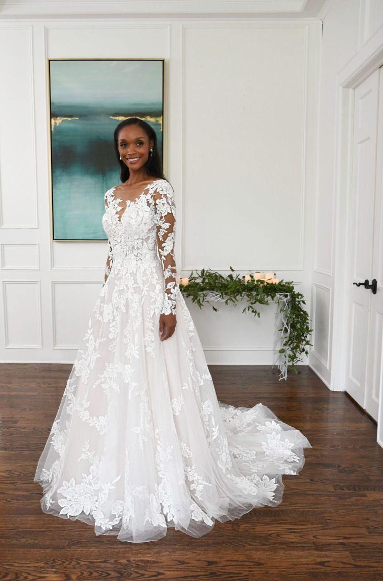 D3280lscq Essense Of Australia A Line Bridal Gowns Designer Wedding Gowns Bridal Dresses [ 1137 x 750 Pixel ]