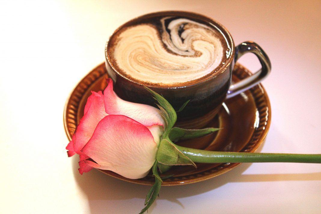 землей кофе с добрым утром фото цветы кафе где