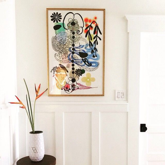 Gorgeous corner featuring our Richmond frame courtesy of @susiemaddux. Beautiful light! #framebridge #regram