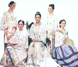 Fashion spanish era philippines