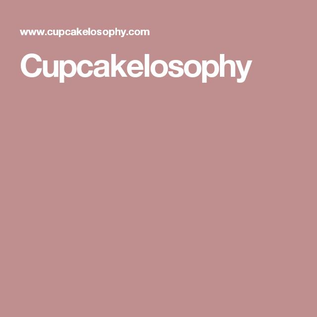 Cupcakelosophy