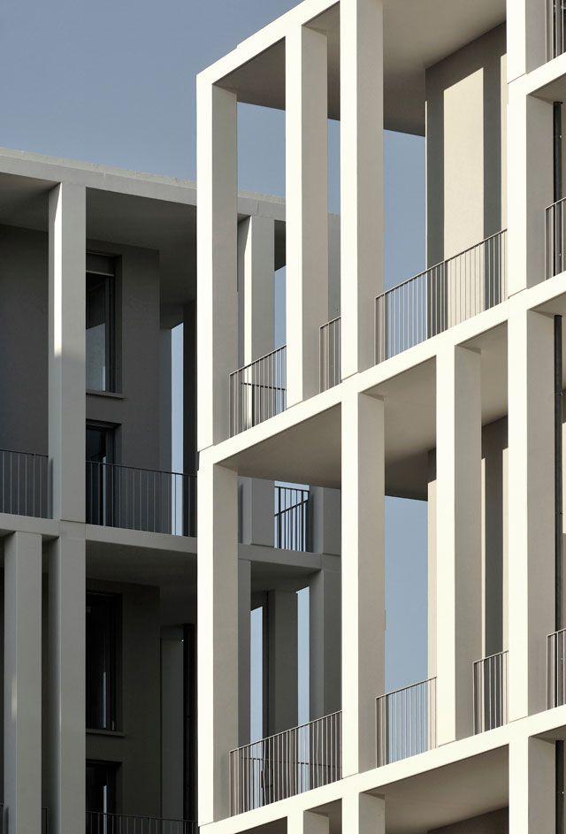 zac berthelot apartments lyon france by clement vergely architectes pinterest. Black Bedroom Furniture Sets. Home Design Ideas