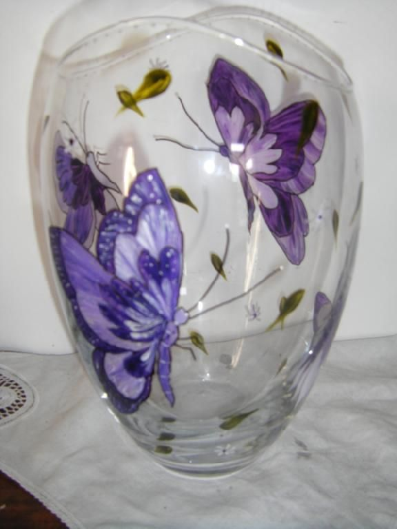 Pin By Marie Peeples On Vases Pinterest Glass And Paintings