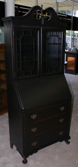 Antique Secretary Mahogany Secretary Chippendale Secretary Desk