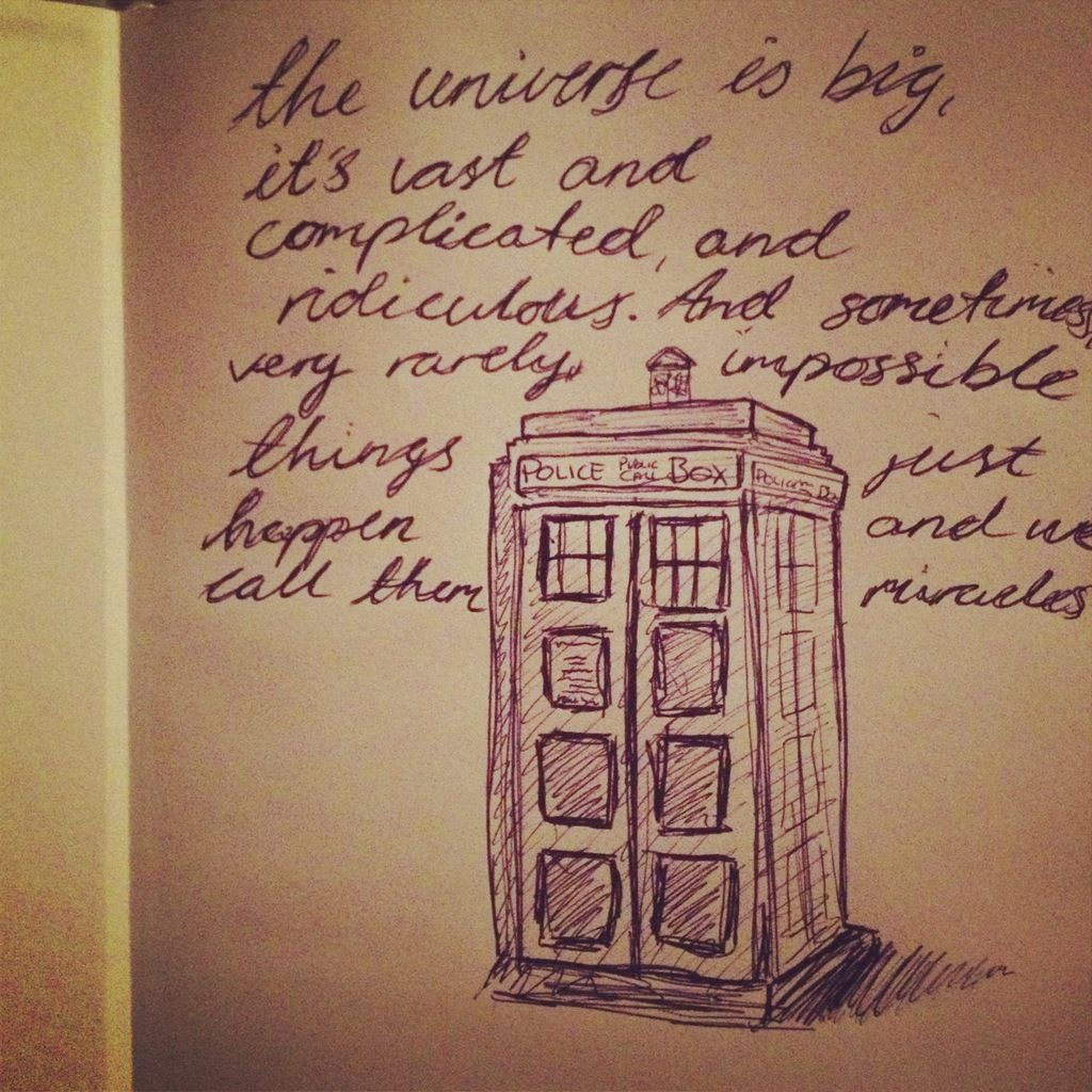 Doctor Who Quotes About Love Doctor Who Drawing Dw Love Matt Smith Police Quote Sketch