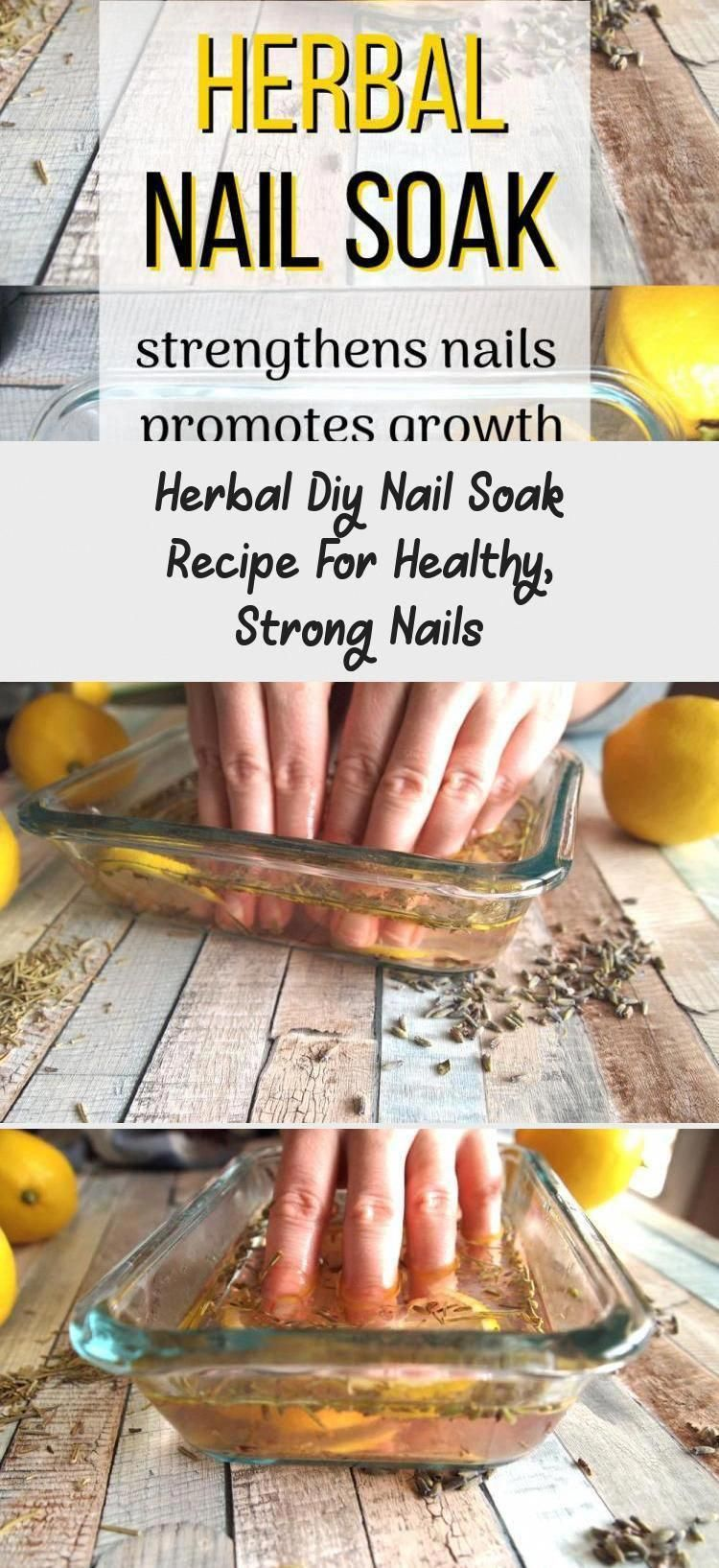 This easy at home nail soak is the perfect first step for ...