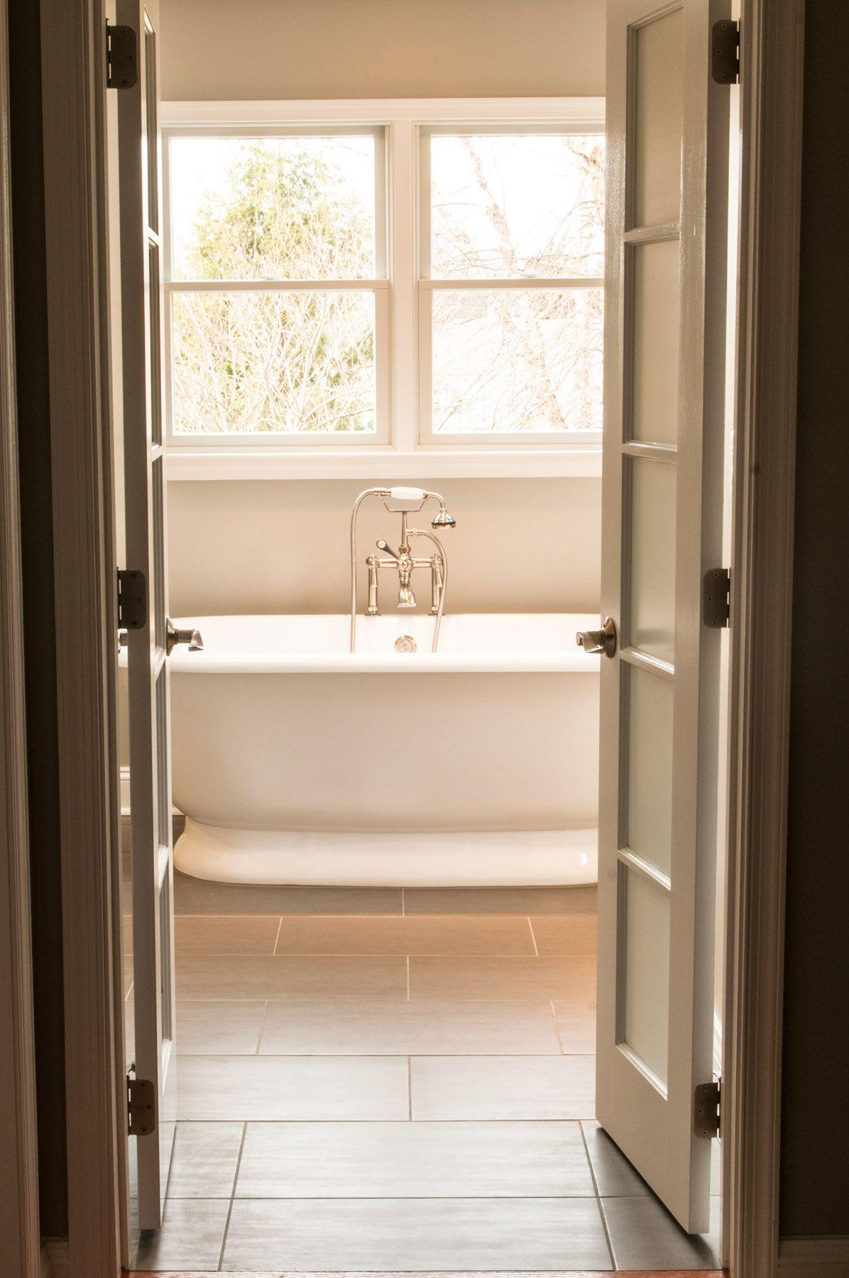 Double Swinging Bathroom Doors Best Home Interior