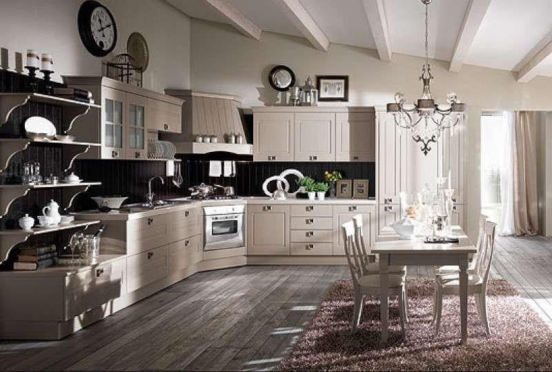 Abbinare il pavimento al rivestimento della cucina - Cucina classica ...