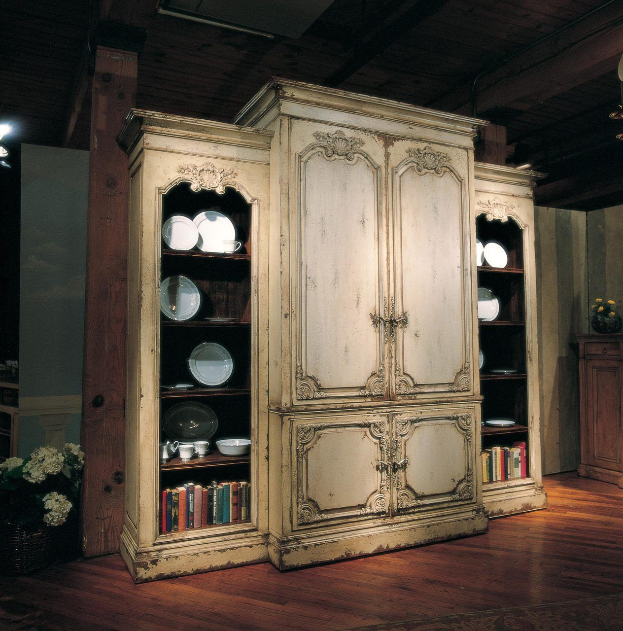 Bordeaux piece home entertainment center in habersham