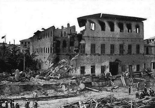 A guerra mais curta da história foi entre Zanzibar e Inglaterra em 1896. O zanzibar rendeu-se ao fim de 38 minutos.