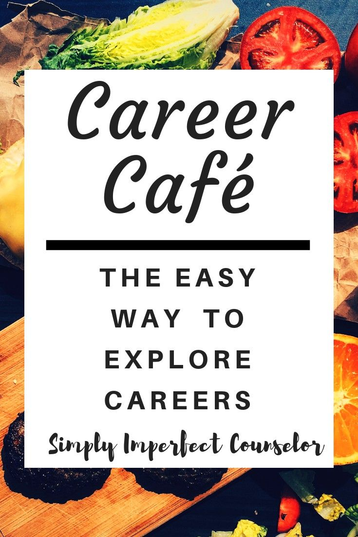 How to Start Career Cafe (The Easy Way is part of School counseling lessons, Career lessons, Career exploration activities, School counselor, Counseling lessons, School counseling - A fun and engaging way to teach college and career readiness    Career Cafe! I can tell you, it worked! And, with little prep time, it can work for you too!