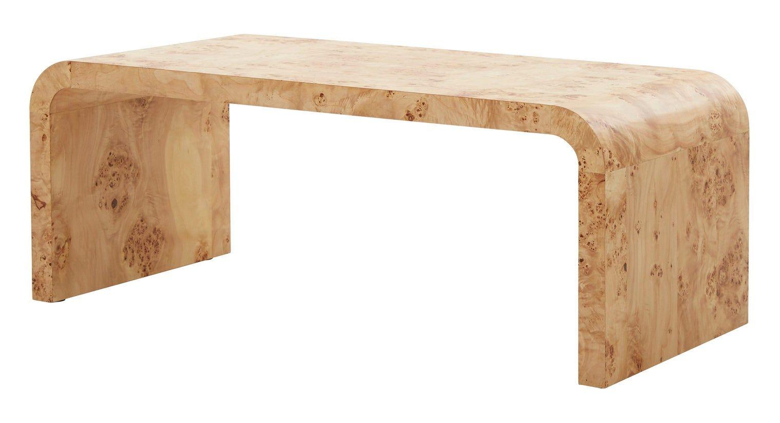 Powell Coffee Table In 2020 Burled Wood Coffee Table Burled Wood Furniture Chic Coffee Table