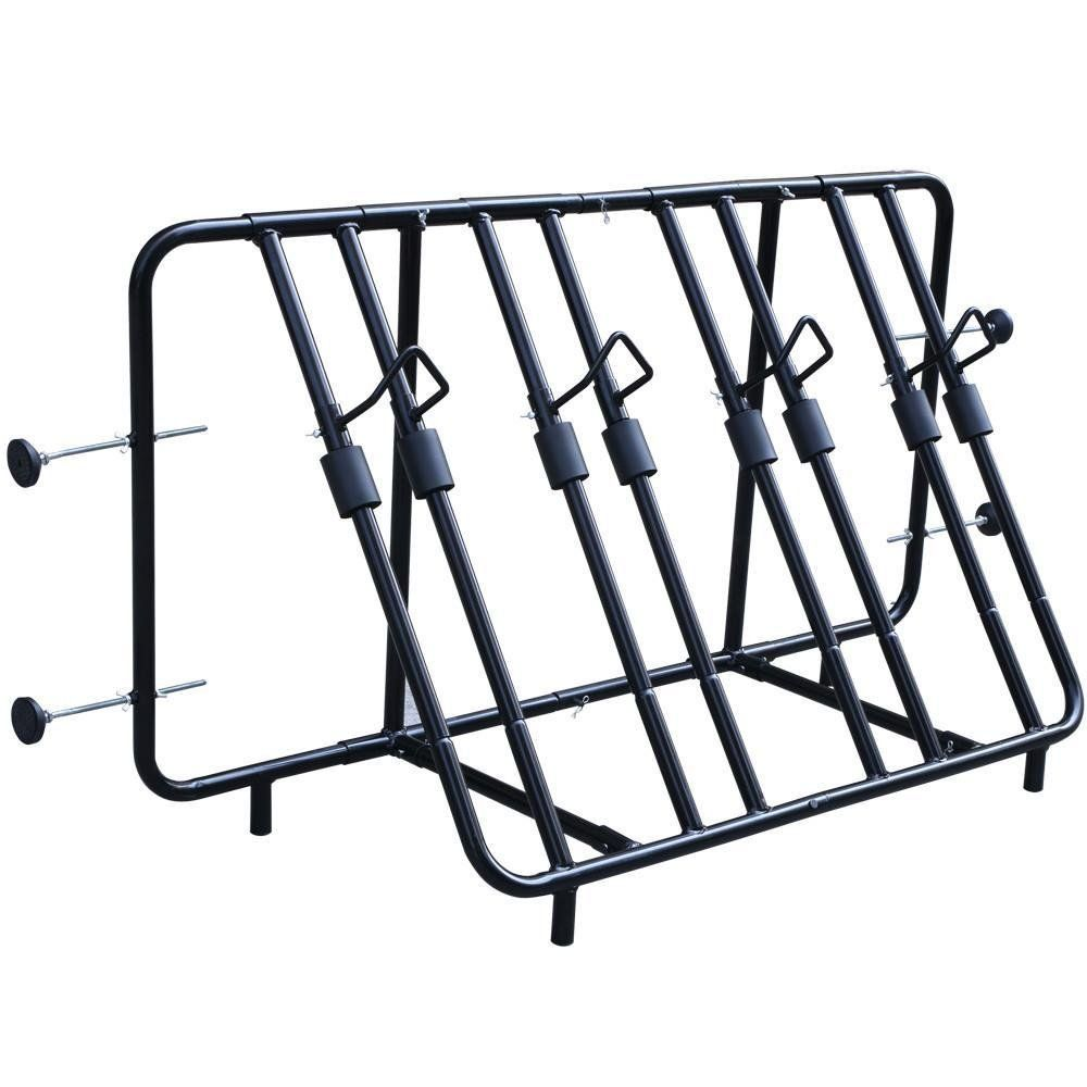 Yaheetech Iron 4 Bicycle Bike Rack Pick Up Truck Bed Carrier Stand Mounted Enter Your Model Number Above To Make Sure This Fits Truck Bed Bike Stand Bike Rack