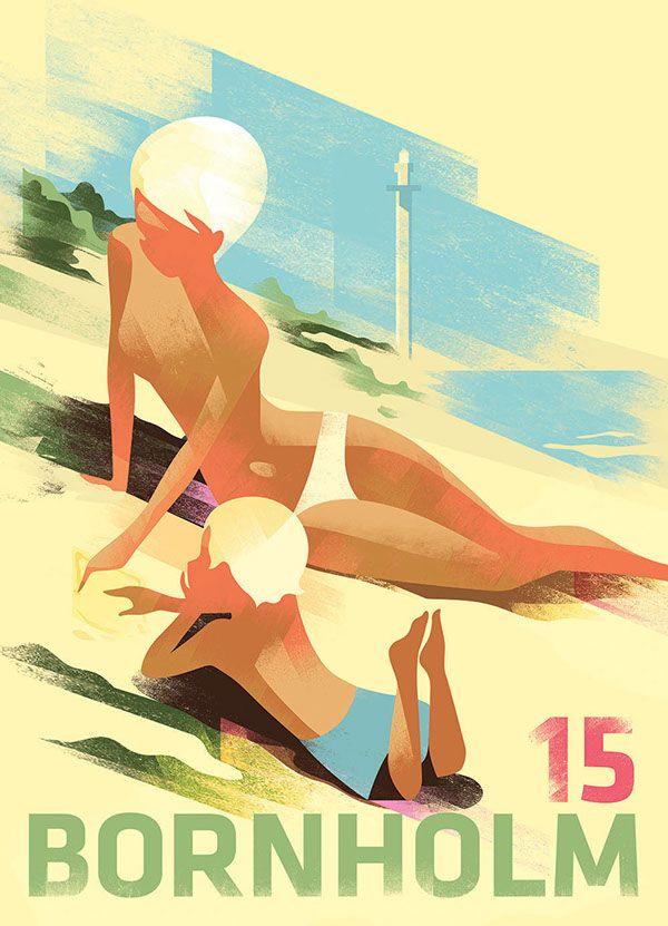 Bornholm Poster 2015 on Behance