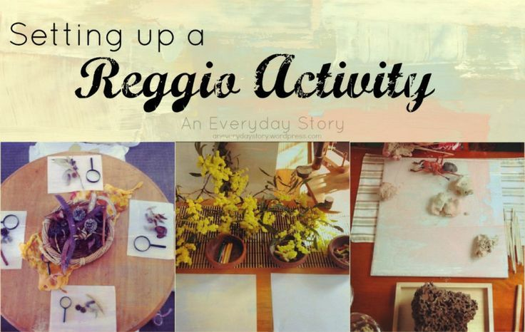 How to Set Up a Reggio Activity from An Everyday Story