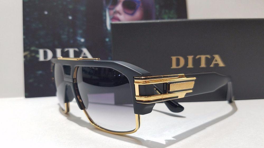 84df5d61f47 DITA GRANDMASTER FOUR DRX -2060-A -BlK- GLD - 58 18K GOLD SUNGLASSES  Dita…