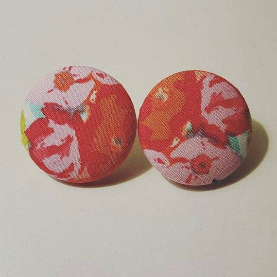 Check out this item in my Etsy shop https://www.etsy.com/listing/266909291/pink-and-red-floral-art-fabric-button
