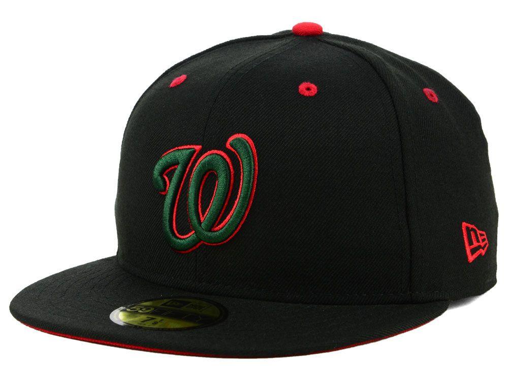 new products 0ae93 34a52 Washington Nationals New Era MLB Italian 59FIFTY Cap