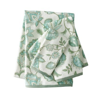 SONOMA life + style Pacific Heights Floral Bath Towels
