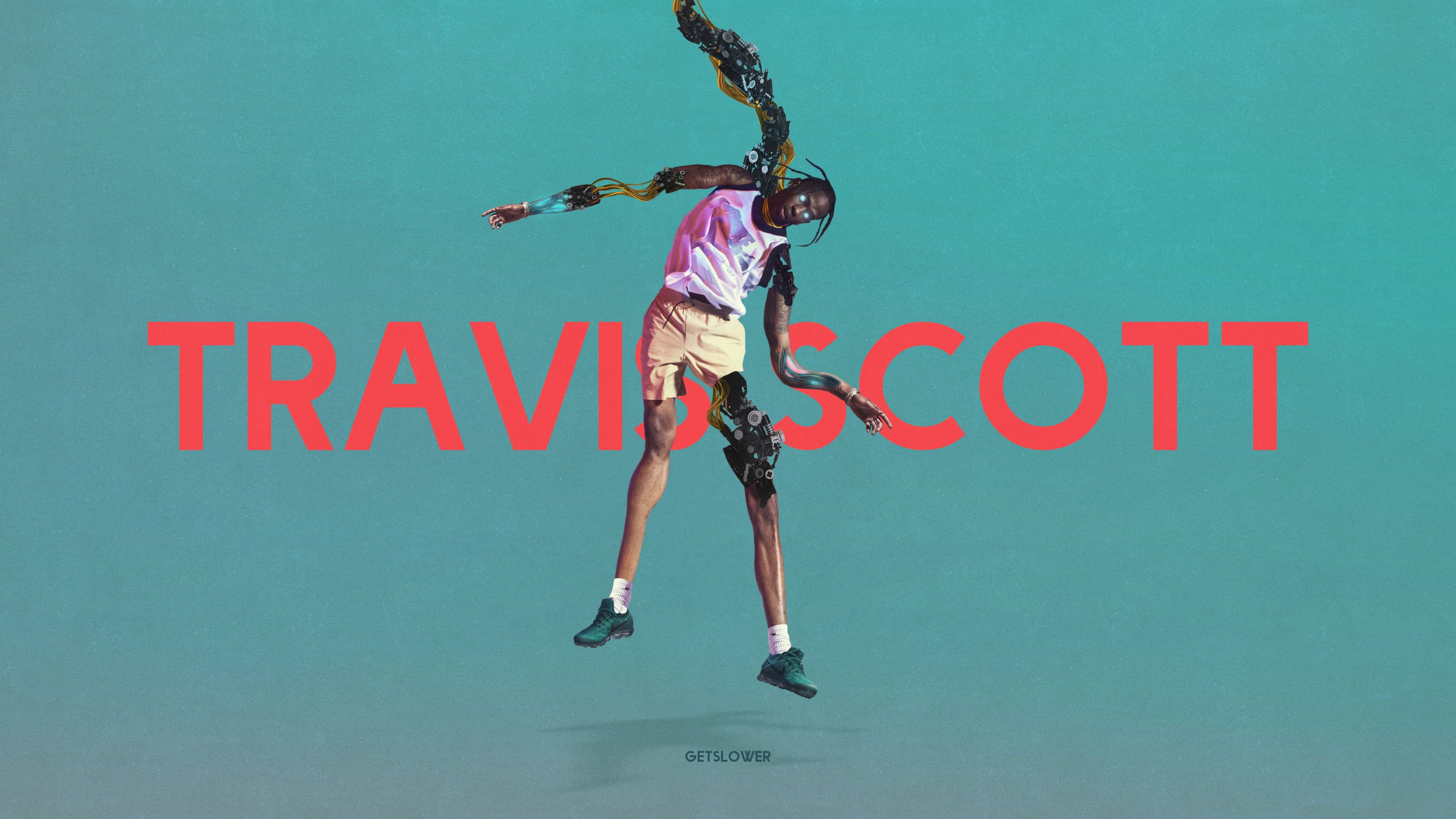 Travis Scott Kanye West 4k Wallpaper Hdwallpaper Desktop Travis Scott Kanye West Travis Scott Wallpapers
