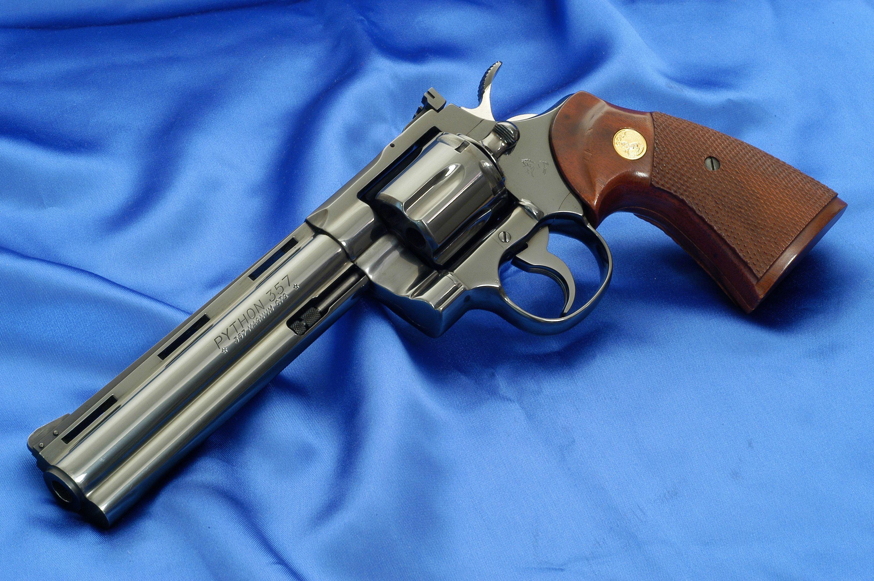 Colt Python, Royal Blue, 6