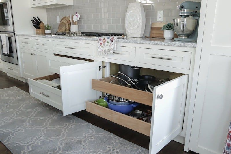 9 Tips For Designing A Functional Kitchen Caroline On Design Kitchen Cabinets Design Layout Kitchen Cabinet Layout Functional Kitchen Design