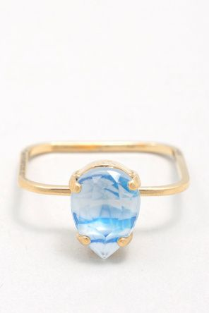 Sabrina Dehoff Superfine Little Princess Drop Striped Ring