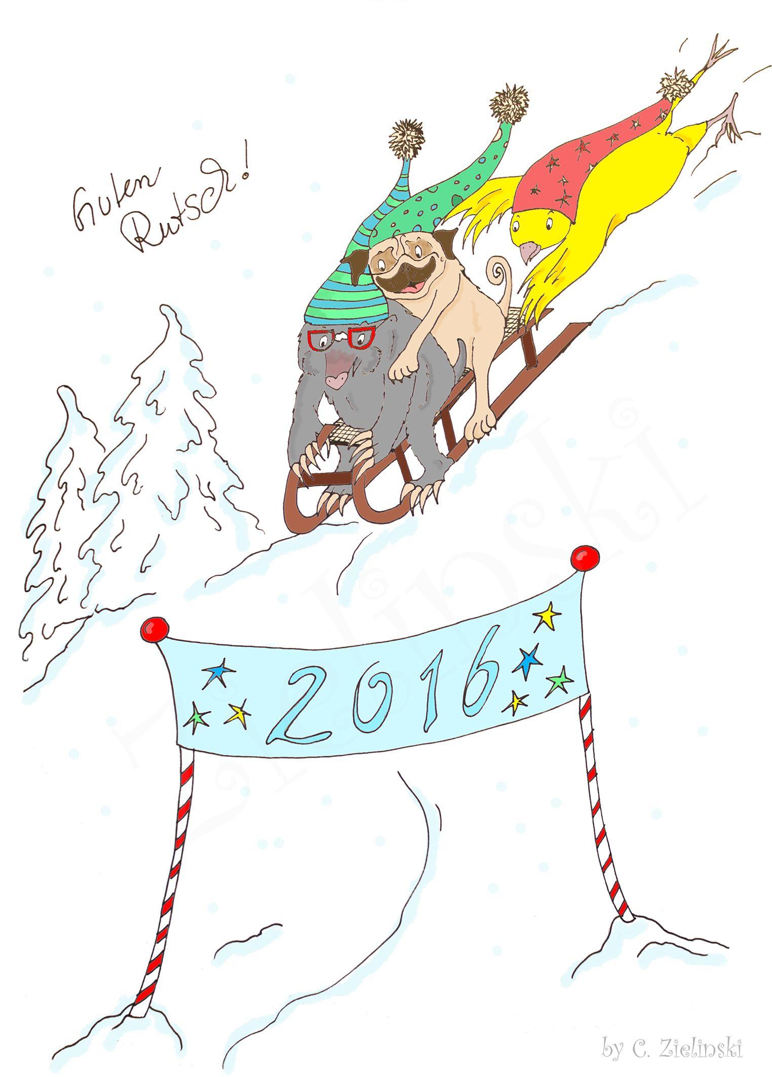 Guten Rutsch ins neue Jahr! www.ruhrpottlocals.jimdo.com/