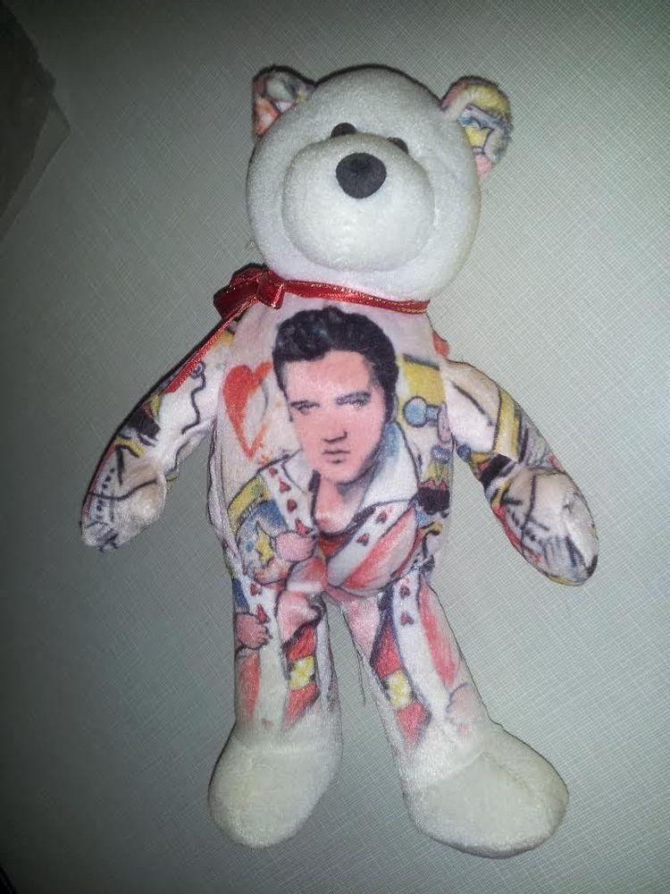 The King of Rock n Roll Elvis Presley beanie baby by Limited Treasures 8b8df7be637