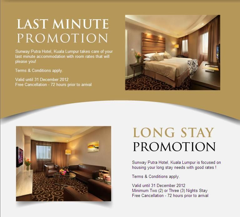 Pin by SunwayPutraHotelKL on KL Room Promotions   Hotel